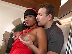 Big Boobs Interracial Pornstar