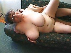 BBW Big Boobs Granny Mature
