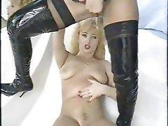 Femdom Latex Lesbian Masturbation