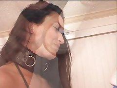 BDSM Blowjob Facial Brunette
