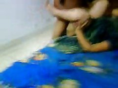 Gangbang Indian Mature Threesome