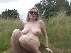 Big Boobs Blonde MILF Squirt