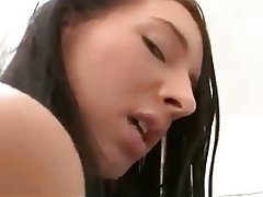 Anal Babe Brunette Close Up