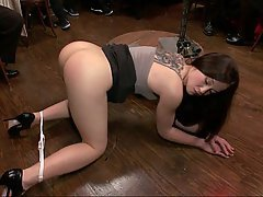 BDSM Bondage Brunette Black