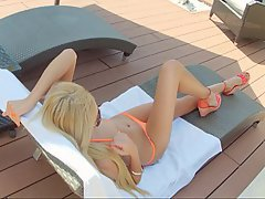Babe Beauty Blonde Outdoor