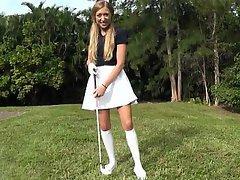 Amateur Blonde Coed Cute Girlfriend