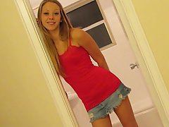 Amateur Babe Blonde Cute