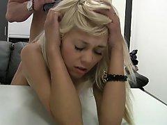 Amateur Babe Blonde Casting