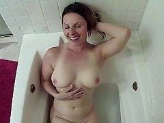 Amateur Bathroom Blowjob Couple
