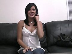 Amateur Brunette Casting Office