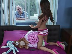 Blowjob Brunette Panties Skinny