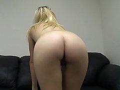 Amateur Blonde Casting Fucking