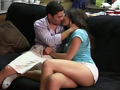Amateur Blowjob Brunette College