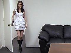 Amateur Babe Brunette Casting