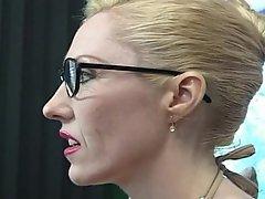 Big Tits Blonde Blowjob Cumshot