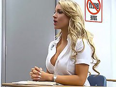 Babe Beauty Blonde Blowjob