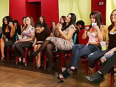 Amateur Brunette Party Reality
