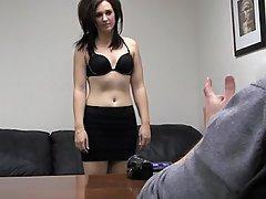 Amateur Babe Blowjob Brunette Casting