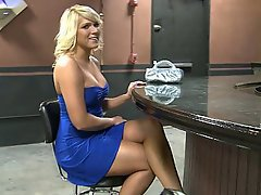 Amateur Babe Big Cock Blonde