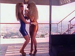 Babe Blonde Lesbian Teen