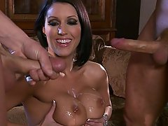 Big Tits Brunette Fucking Hardcore