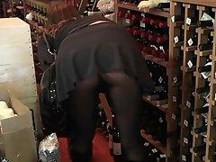 Mature MILF Nylon Pantyhose