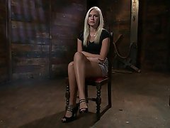 Anal BDSM Blonde Rough