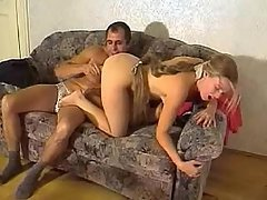 Amateur Blonde Dildo Fucking