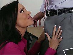 Office Secretary Stockings Babe