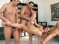 Anal Big Tits Blonde Cumshot
