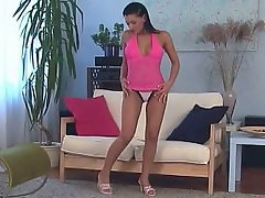 Babe Beauty Bikini Brunette