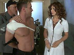 Doctor Vintage Nurse Upskirt