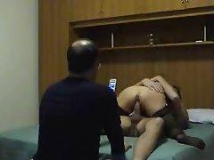 Amateur Cuckold Italian Midget