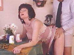 Cumshot Lingerie Mature MILF Vintage