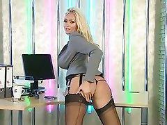 Big Boobs Blonde British MILF