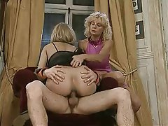 Anal Double Penetration German Threesome Vintage