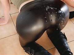 Cumshot Handjob Latex