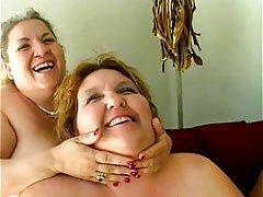 Lesbian Mature BBW Big Boobs