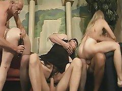 Blowjob Group Sex Mature Blonde Brunette