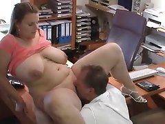 BBW Big Boobs German Mature