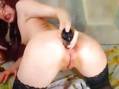 Anal Double Penetration MILF Nipples
