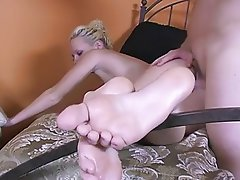 Amateur Cumshot Foot Fetish