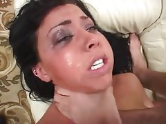 Anal Babe Brunette Hardcore