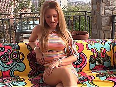 Blonde Casting Reality Teen