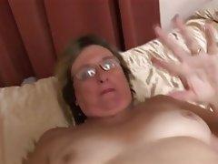 Amateur British Granny Masturbation