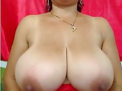 Big Boobs Brunette Softcore