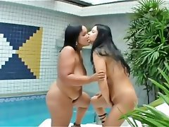BBW Brazil Lesbian MILF
