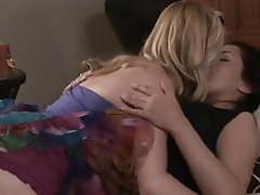 Blonde Brunette Lesbian
