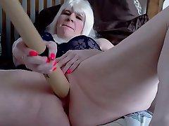 Close Up Granny Webcam