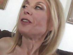 Cumshot MILF Old and Young Pornstar